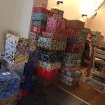 Weihnachtspäckchen sammeln