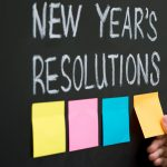 Neujahrsvorsätze Post Its