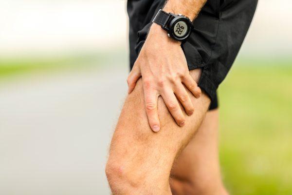 Schmerzen im Bein beim Joggen